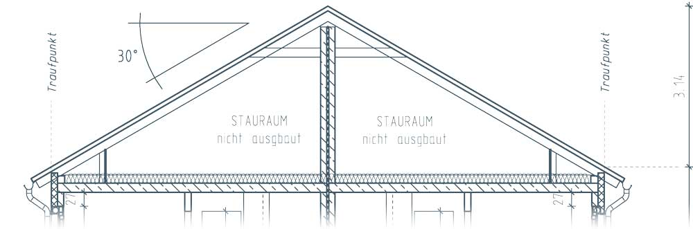 Dachboden Stadthaus Quartier